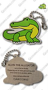 Alvin The Alligator Cache Buddy
